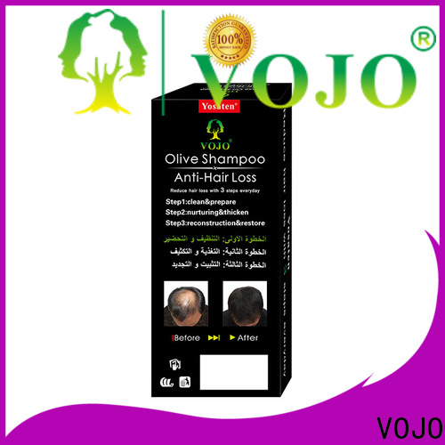VOJO natural hair growth shampoo factory for girls