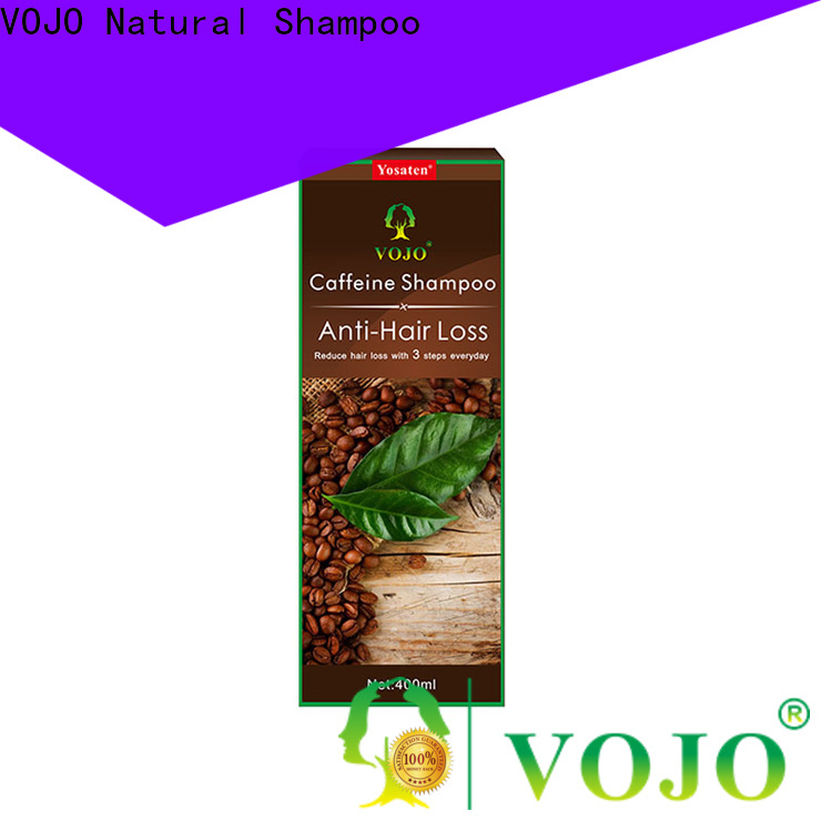 Wholesale hair growth shampoo label company for girls