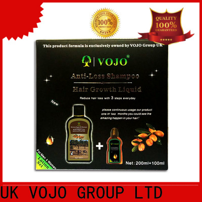 VOJO liquid anti hair fall shampoo factory for adult