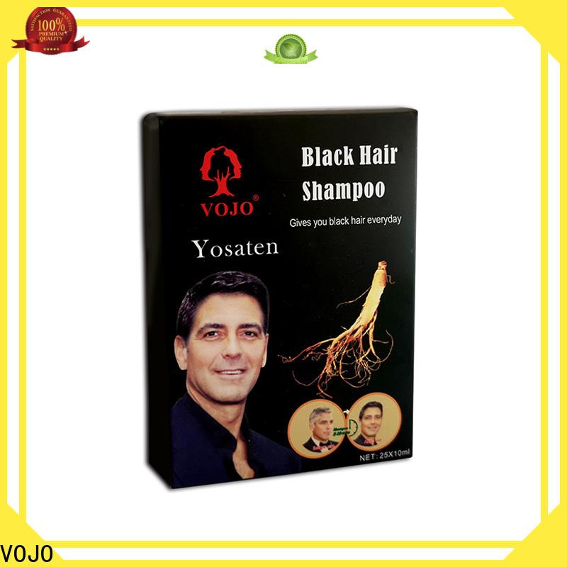 VOJO blackening beard dye shampoo suppliers for man
