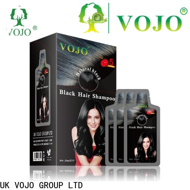 VOJO grey hair dye shampoo for business for girls
