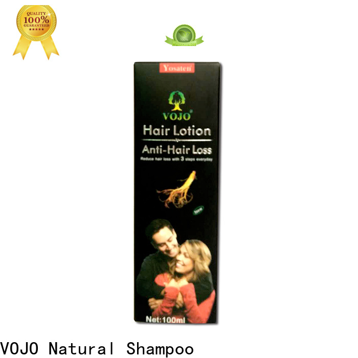 VOJO stimulating hair growth shampoo for business for salon