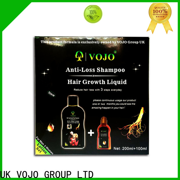 VOJO scalp anti hair loss shampoo company for woman