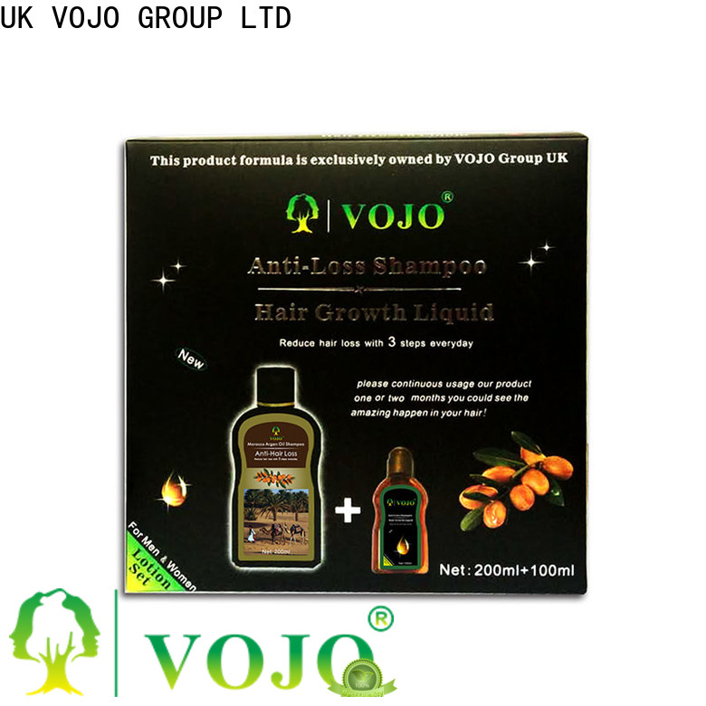 VOJO oil anti hair loss shampoo suppliers for salon