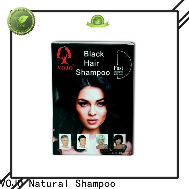VOJO popular hair colour shampoo suppliers for woman