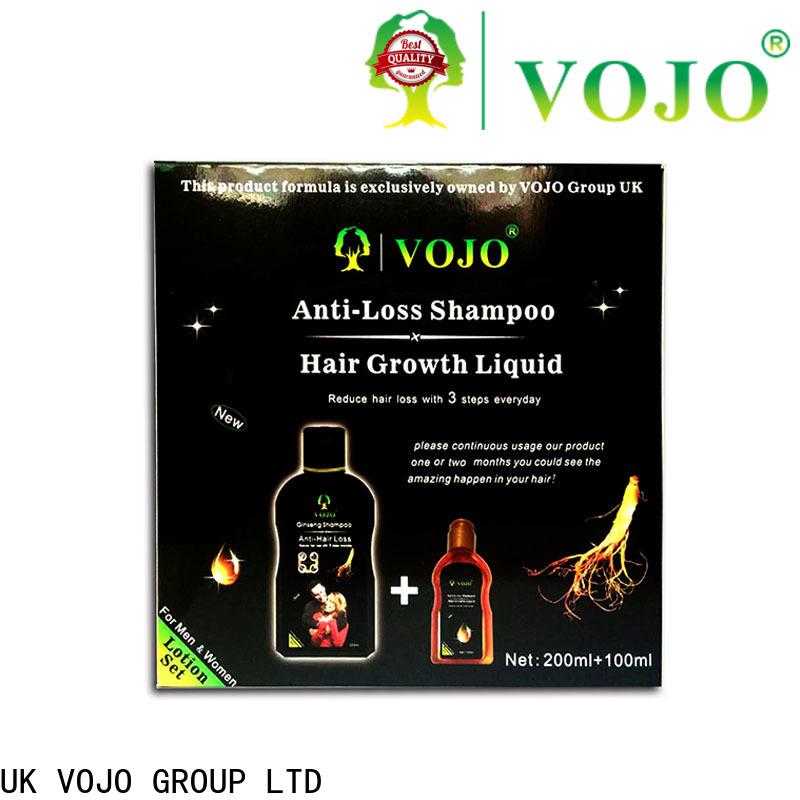 VOJO Custom hair growth shampoo company for woman