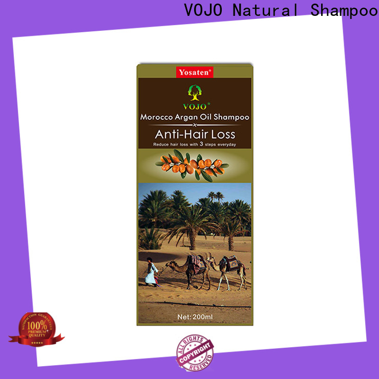 VOJO Wholesale hair growth shampoo supply for man