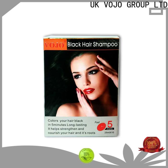 New hair colour shampoo blackening supply for woman