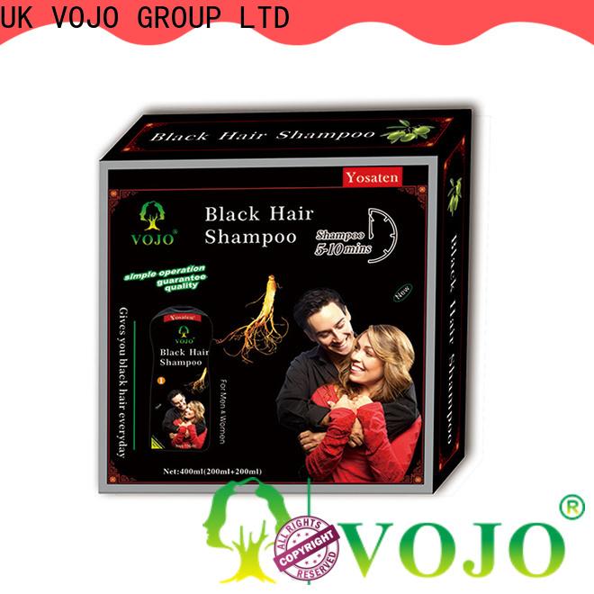 VOJO oem hair colour shampoo factory for girls