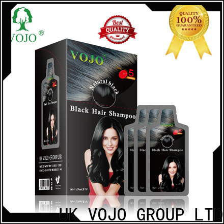 VOJO market hair dye shampoo for sale for salon