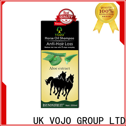 VOJO Latest anti hair fall shampoo suppliers for adult