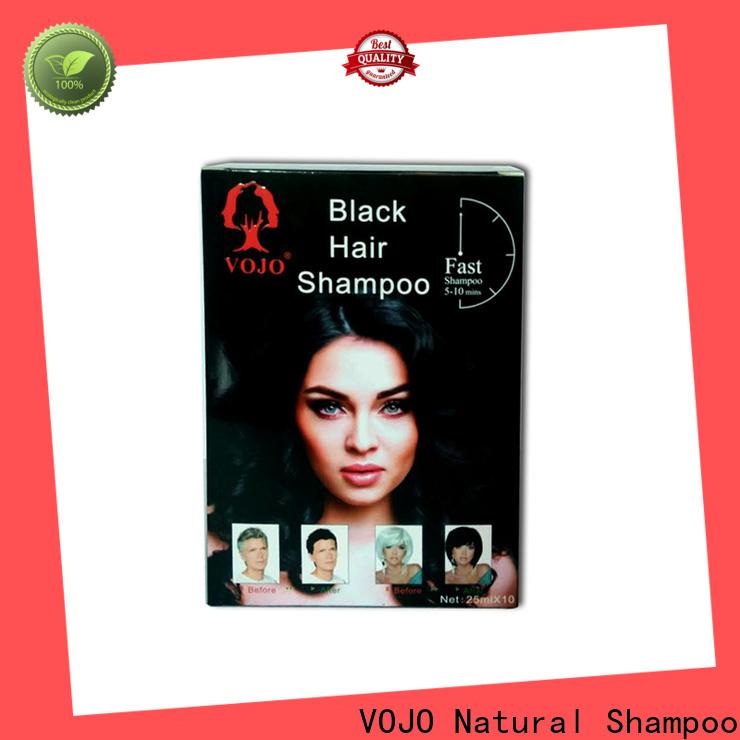 VOJO Custom hair dye shampoo for business for adult