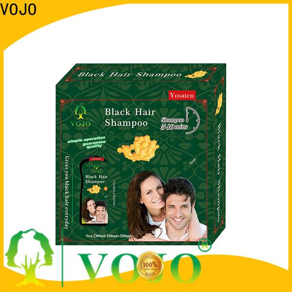 VOJO Custom hair colour shampoo for business for man