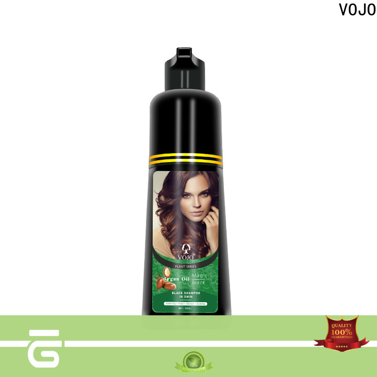 VOJO oem beard dye shampoo for business for adult