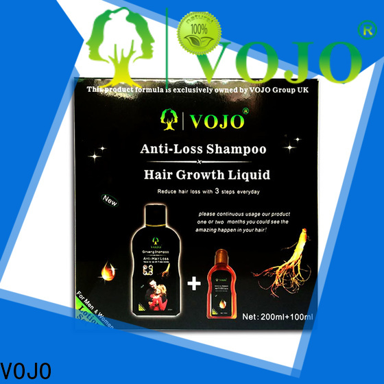 VOJO free anti hair loss shampoo for sale for woman