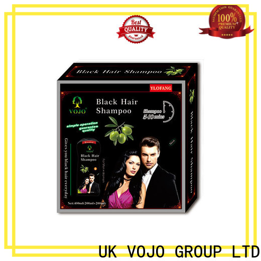 VOJO extract hair dye shampoo for business for adult