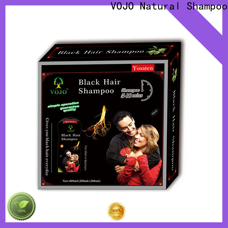 VOJO Custom hair dye shampoo for business for girls