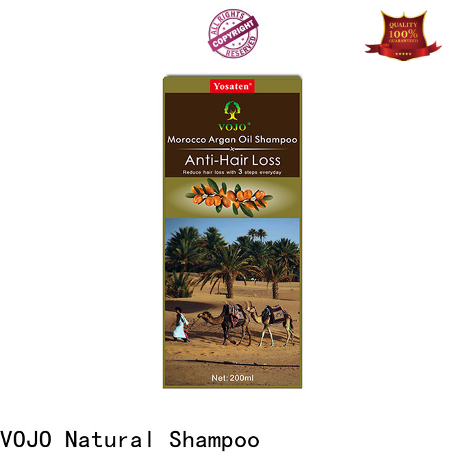 VOJO thinning anti hair loss shampoo for sale for girls