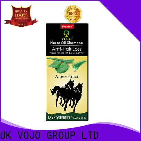 VOJO extracts anti hair loss shampoo factory for salon
