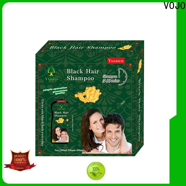 VOJO coverage beard dye shampoo for business for man