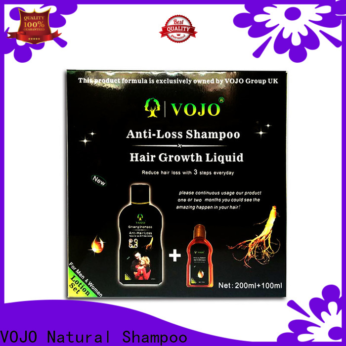 VOJO Wholesale anti hair fall shampoo company for salon