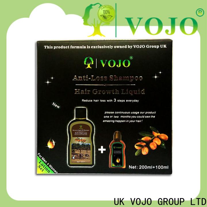 VOJO market anti hair loss shampoo for sale for woman