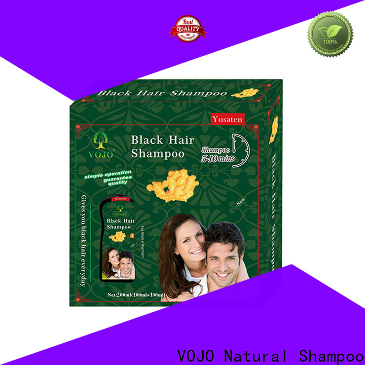 Custom hair dye shampoo herbal supply for woman