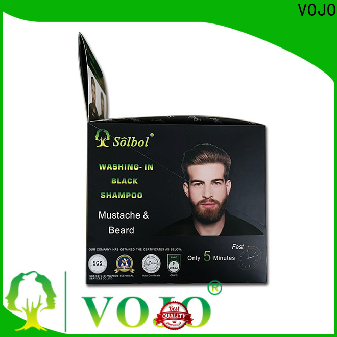 Wholesale hair dye shampoo instant for sale for man
