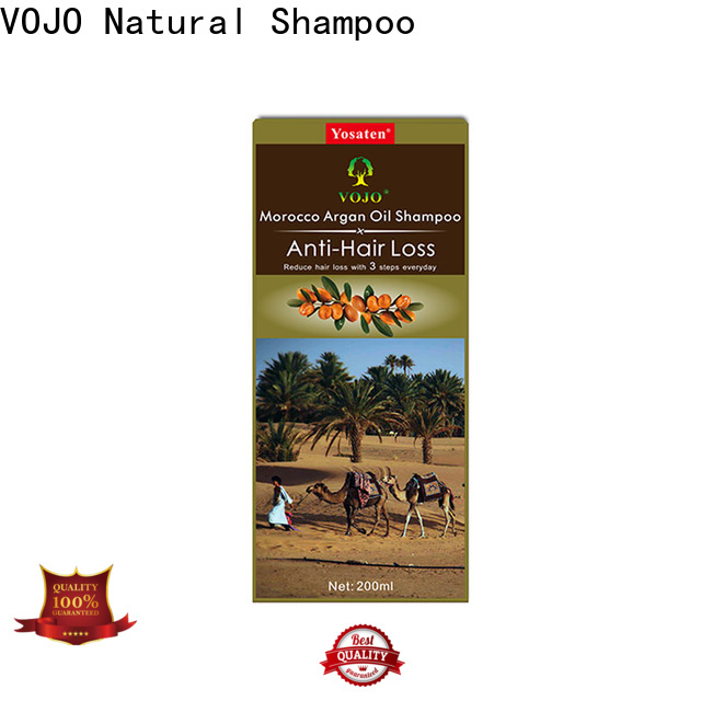 VOJO market hair growth shampoo factory for adult