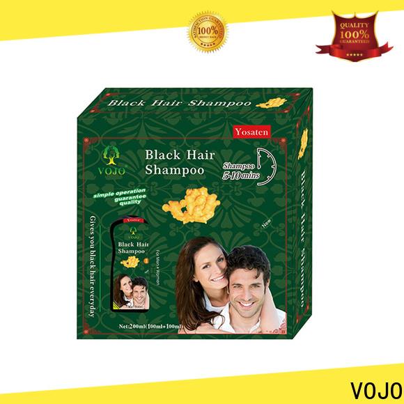 VOJO Custom hair dye shampoo company for salon