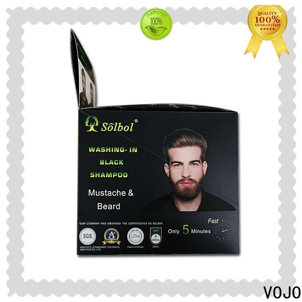 VOJO Best beard dye shampoo supply for salon