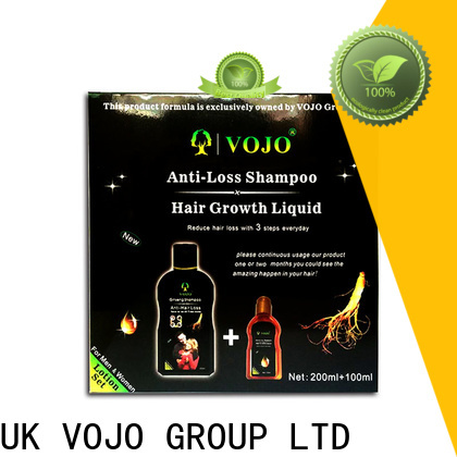 Latest anti hair loss shampoo care company for salon