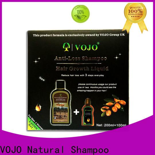 VOJO bulk anti hair loss shampoo company for girls