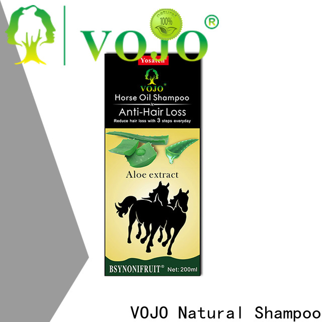VOJO organic anti hair loss shampoo company for adult