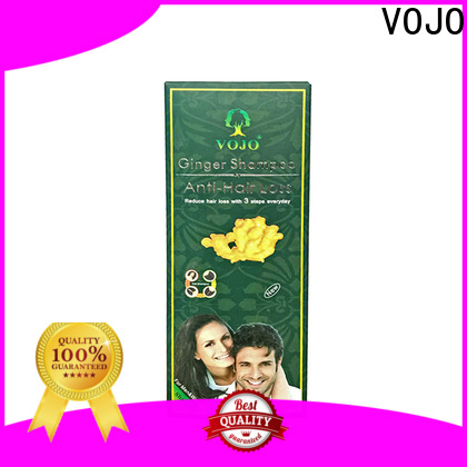VOJO thinning anti hair loss shampoo factory for man