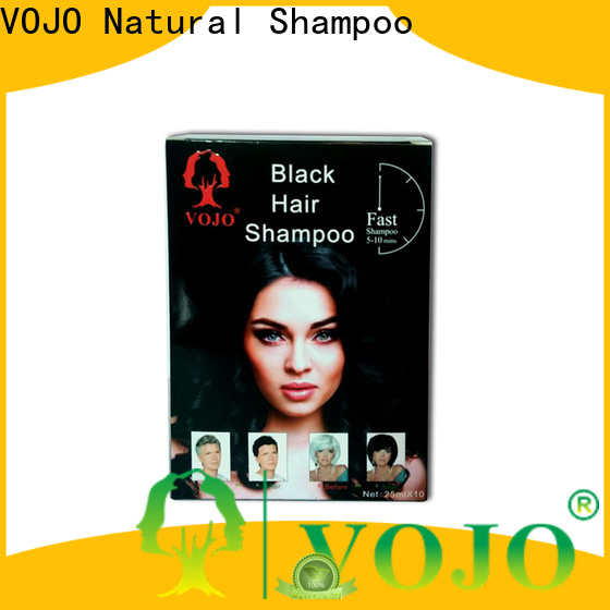 VOJO Custom hair colour shampoo company for man