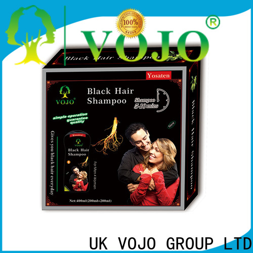 VOJO natural hair colour shampoo for business for girls