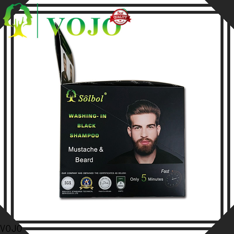 Custom hair colour shampoo healthy factory for salon