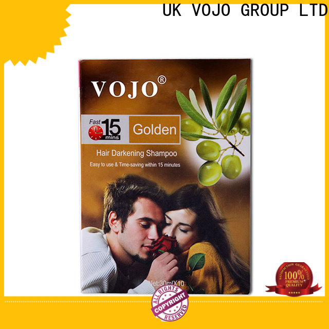 VOJO Top hair colour shampoo company for adult