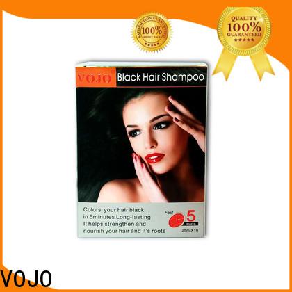Custom hair dye shampoo free company for woman