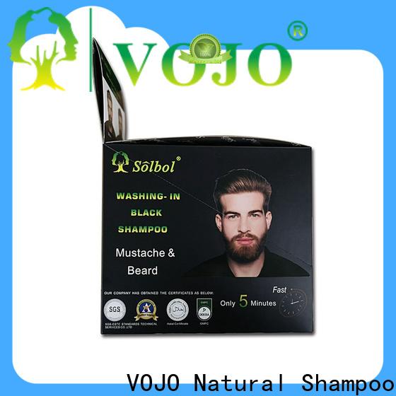 High-quality hair dye shampoo long factory for adult