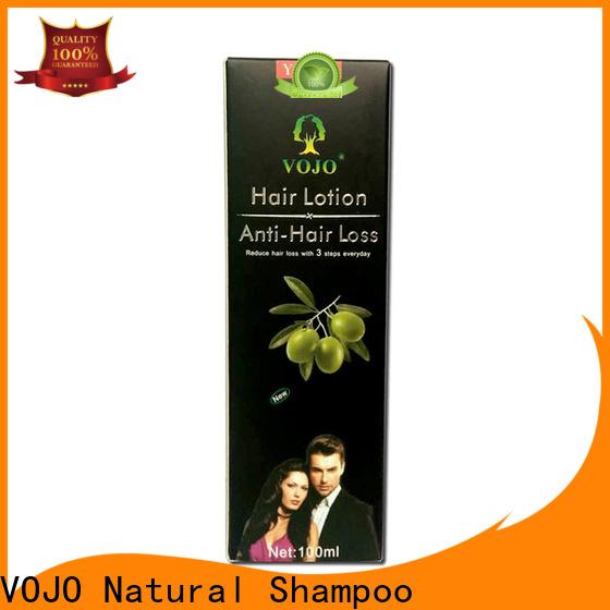 VOJO sulfate anti hair fall shampoo company for girls