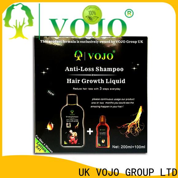 VOJO private hair growth shampoo company for man