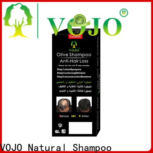 VOJO Wholesale anti hair fall shampoo supply for man