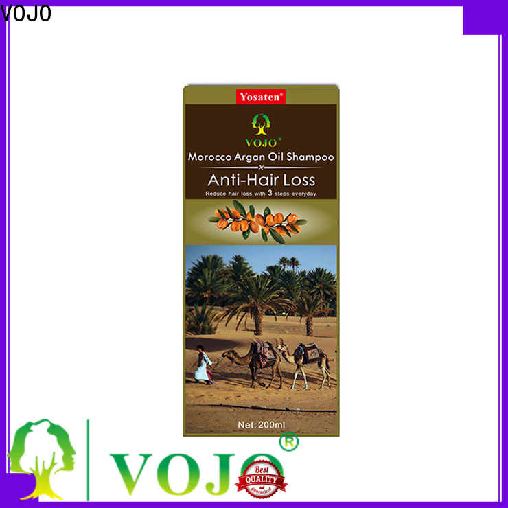 VOJO promotes anti hair loss shampoo supply for adult