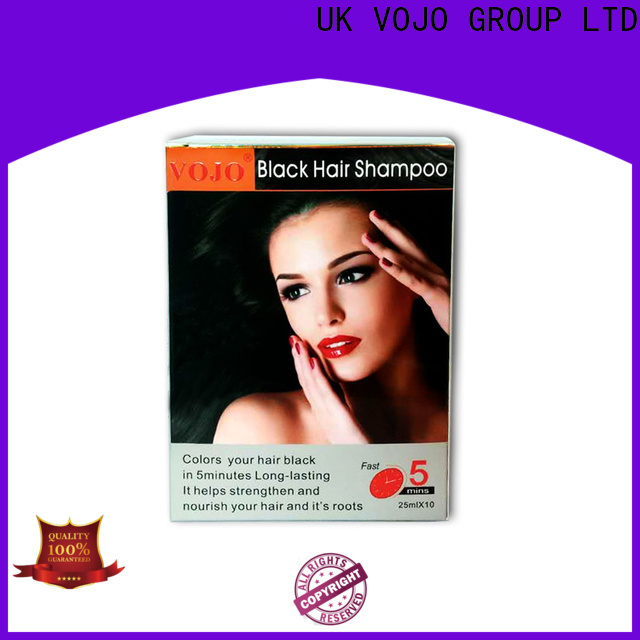Custom hair colour shampoo natural supply for girls