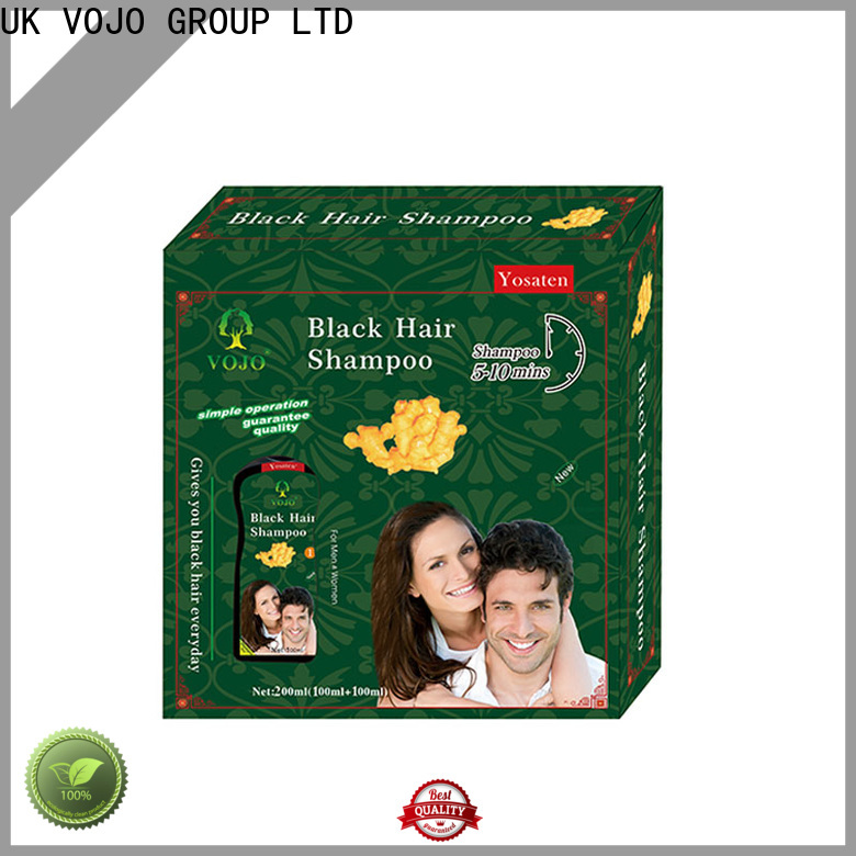 VOJO coverage hair colour shampoo for sale for woman