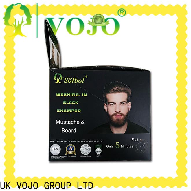 High-quality hair dye shampoo cream suppliers for man