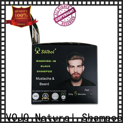 VOJO herbal hair dye shampoo manufacturers for woman