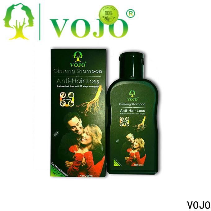 VOJO anti hair growth shampoo company for salon